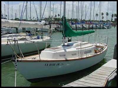 Cape Dory 25, 1978, Corpus Christi Marina, Texas sailboat