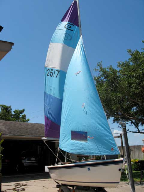 Catalina Capri 14.2, 1988 sailboat