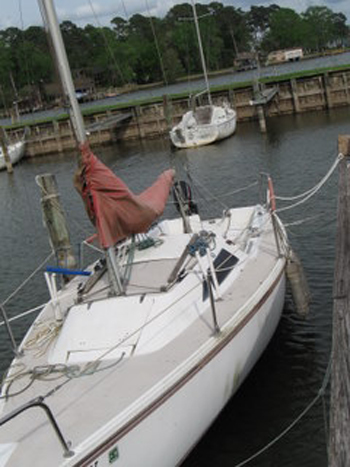Capri 22, 1986 sailboat