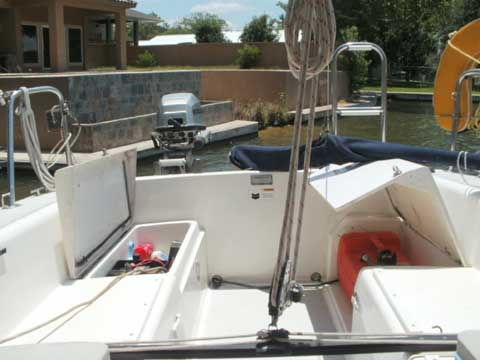 Catalina Capri 22, 2002 sailboat