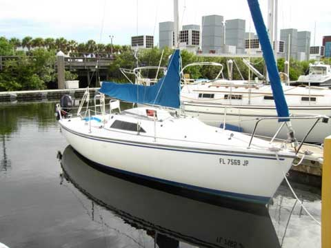Catalina Capri 22, 1997, Tampa, Florida sailboat