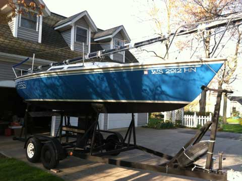 Catalina Capri 25, 1980, Holland, Michigan sailboat