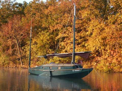 Caprice, 25 ft., 1999, Kemah, Texas, Designed by Jim Michalak sailboat