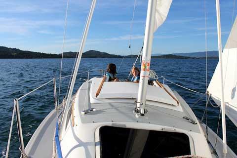 Catalina 22 Wing Keel, 1988 sailboat