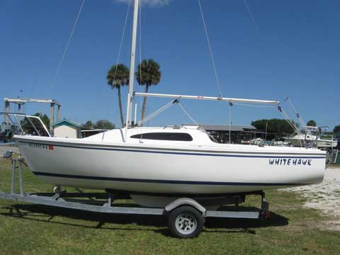 Catalina 22 Sport, 2006, Sanford, Florida, sailboat for sale