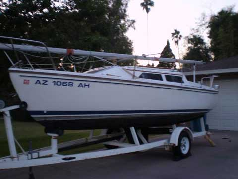 Catalina 22, wing keel, 1990, Phoenix, Arizona, sailboat for