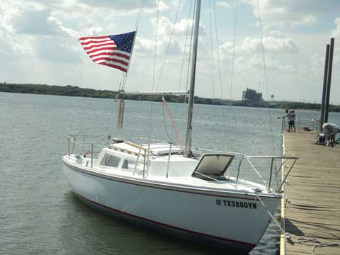 Catalina 22, 1976, Arlington, Texas sailboat