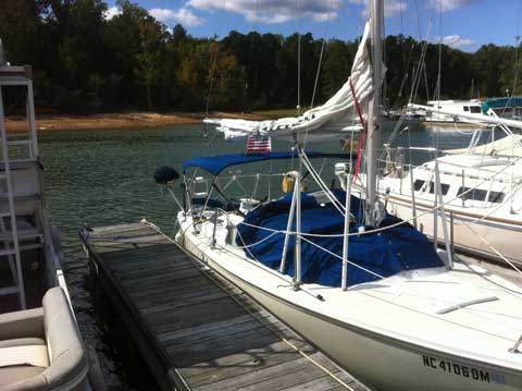 Catalina 22 sloop, 1982, Mcleansville, North Carolina sailboat