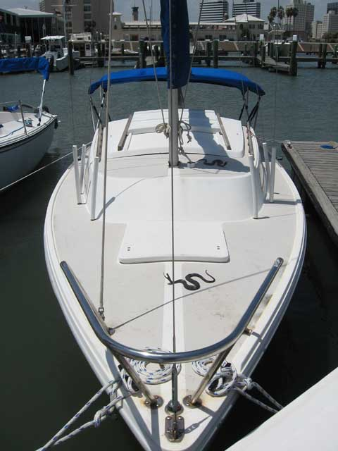 Catalina 22 Swing Keel, 1980, Corpus Christi Marina, Texas sailboat