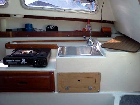 Catalina 22, 1977, Temperance, Michigan sailboat