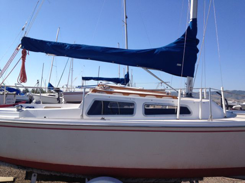 Catalina 22, Swing Keel, 1982, Denver, Colorado (Chatfield Lake sailboat