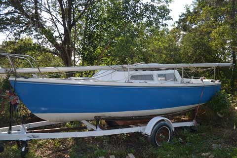 Catalina 22, 1977, Austin, Texas sailboat