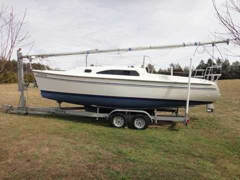 Catalina 250 mkII, 2008, Morganton, North Carolina sailboat