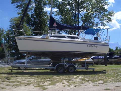 Catalina 250, wing keel, 1999, Columbia, South Carolina sailboat