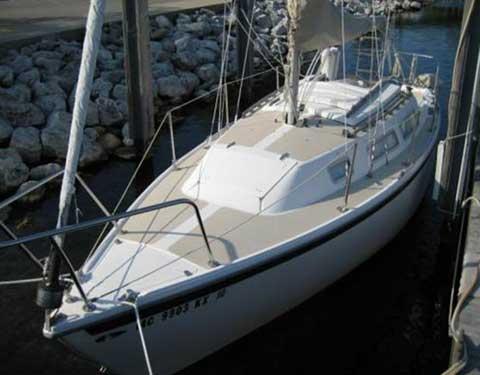 Catalina 25, 1979, Harrison Township, Michigan, sailboat for