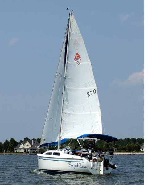 Catalina 25, 1997 sailboat