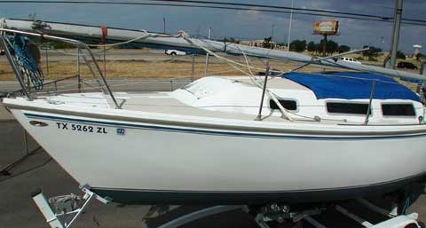 Catalina 25, 1982, Lewisville, Texas sailboat