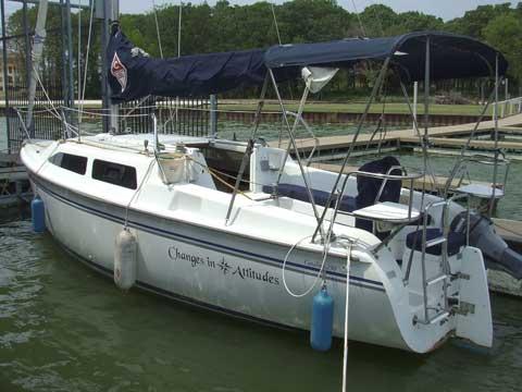 Catalina 25', 2004, Corsicana, (Dallas), Texas sailboat