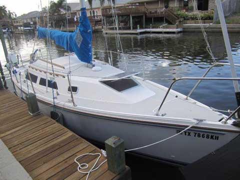 Catalina 25, 1989, Corpus Christi, Texas sailboat