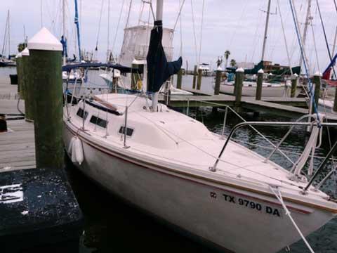 Catalina 25 Tall Rig, 1984, Rockport, Texas sailboat