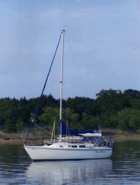 Catalina 25, 1987, Lake Texoma, Oklahoma sailboat