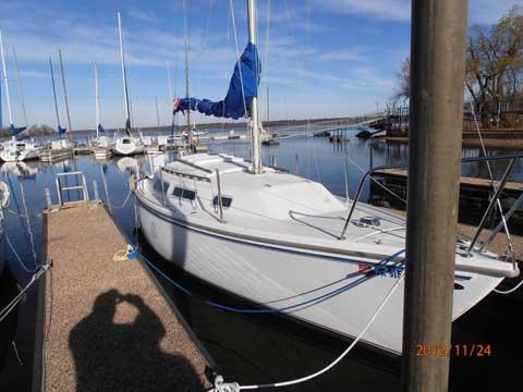 Catalina 25, 1982, Wagoner, Oklahoma sailboat
