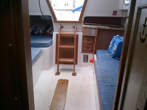 Catalina 27 tall rig, 1977 sailboat