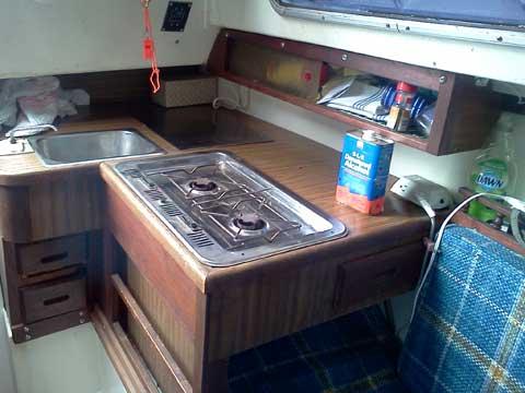 Catalina 27 1974 W Frig Oklahoma City Sailboat For