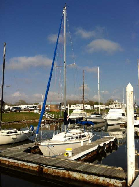 Catalina 27, 1983, Seabrook, Texas sailboat