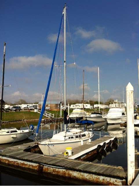 Catalina 27, 1983, Seabrook, Texas sailboat