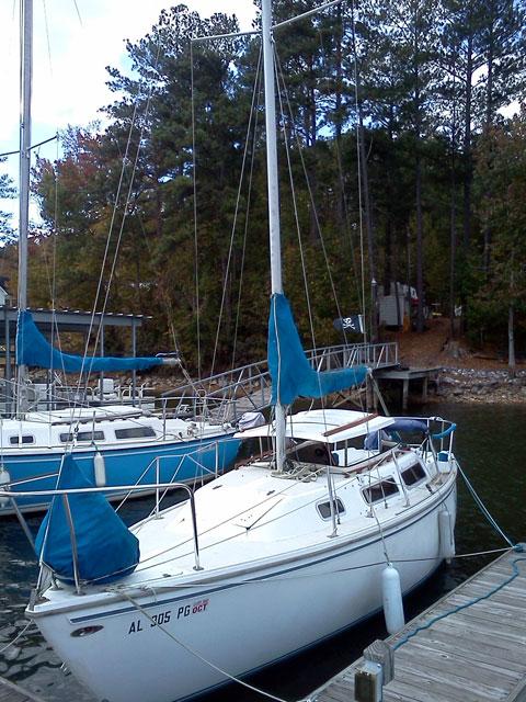 Catalina 28 Swing Keel, 1982, Birmingham, Alabama sailboat