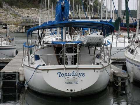 Catalina 30, 1988, Lake Travis, Austin, Texas sailboat