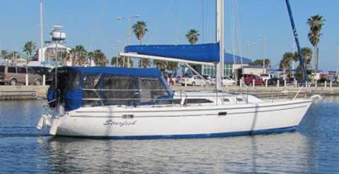 Catalina 36 MKII, Fin keel, 1999 sailboat