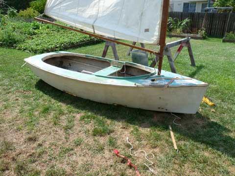 Catboat, 1970?, St Charles, Missouri sailboat