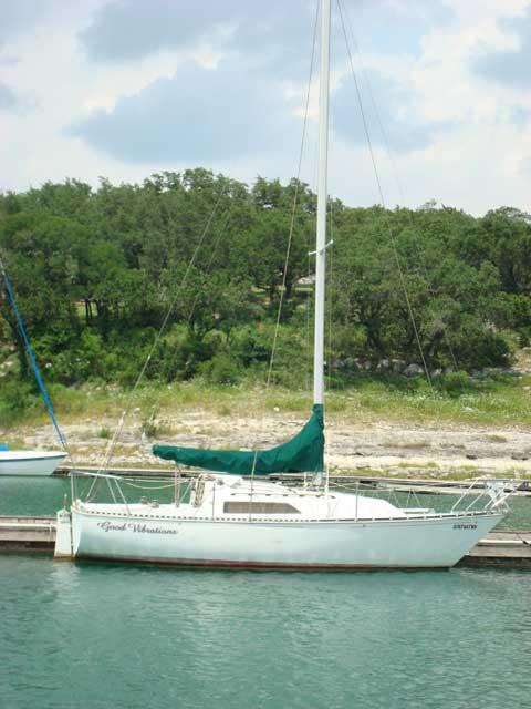 C&C 25, 1983, sailboat