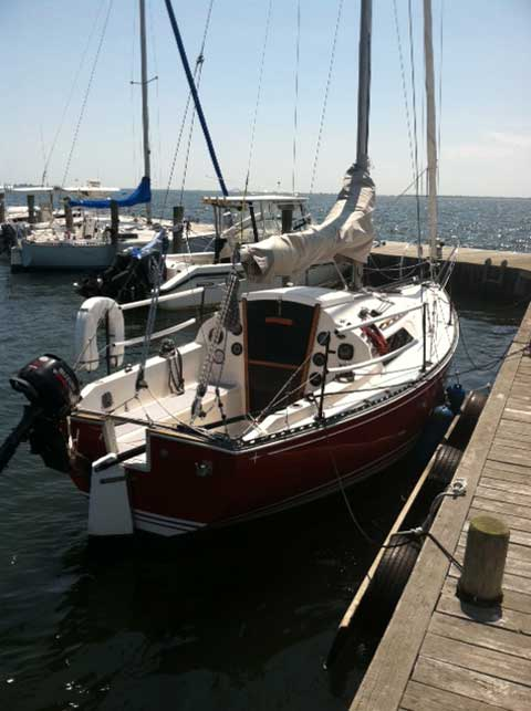 C Amp C 25 Mk1 1973 West Islip New York Sailboat For Sale