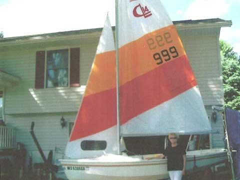 CL 14, 1981 sailboat