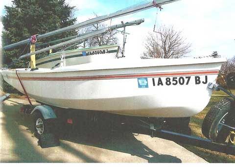CL 14, 1981 sailboat