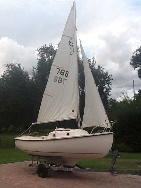 Com Pac 16 1980 Kissimmee Florida Sailboat For Sale
