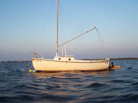 Compac 16, 1976, New Port Richey, Florida sailboat