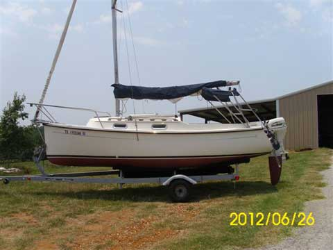 Com-Pac Eclipse 21', 2007, Laneville, Texas sailboat