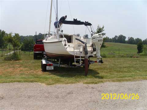 Com-Pac Eclipse 21', 2007, Laneville, Texas sailboat