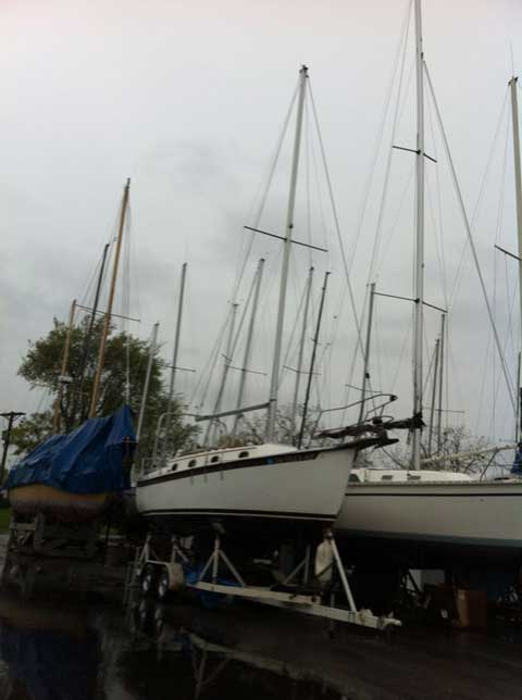 Compac 27 2 1989 Lake City Marina Minnesota Sailboat