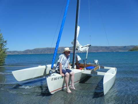 Cross 18 Trimaran (folding), 2004, Ogden, Utah sailboat