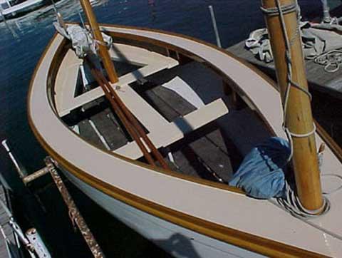 Crotch Island Pinky, 1980, Lake Minnetonka, Excelsior, Minnesota sailboat