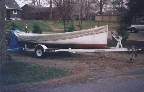Crotch Island Pinky, 1980, Lake Minnetonka, Excelsior, Minnesota sailfboat