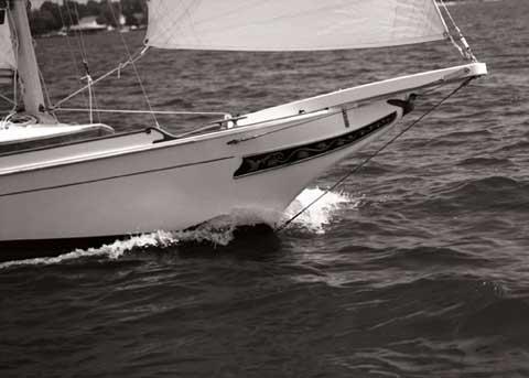 Edmund Cutts designed skipjack, 33ft., 1996, sailboat