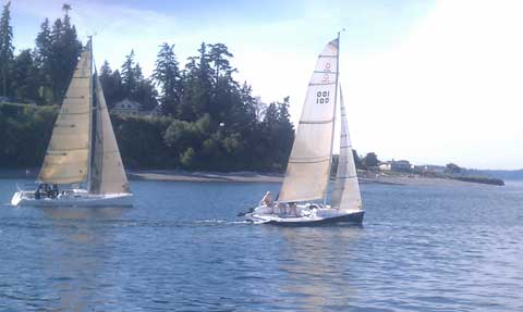 Dibley 25, 1997 Bainbridge Island, Washington, sailboat
