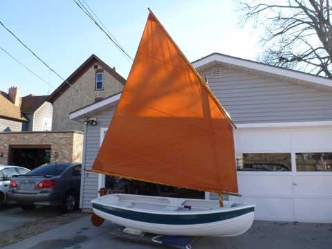 dinghy sailboat