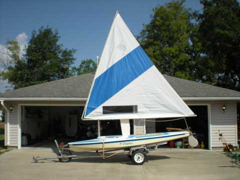 Dolphin, 14.5 ft., 1972, Nederland, Texas sailboat